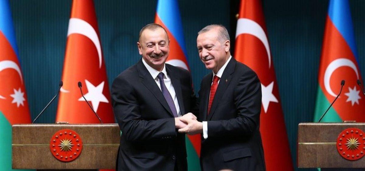 Cumhurbaşkanı Erdoğan, Aliyev ile görüştü #1