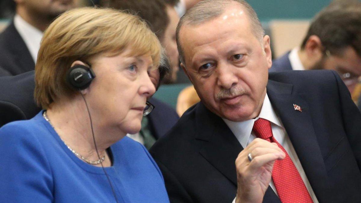 Cumhurbaşkanı Erdoğan, Angela Merkel ile görüştü #2