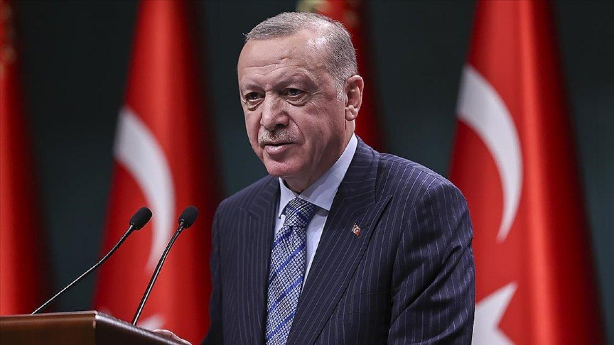 Cumhurbaşkanı Erdoğan: Balıkçı kardeşlerimize bereketli bir sezon diliyorum