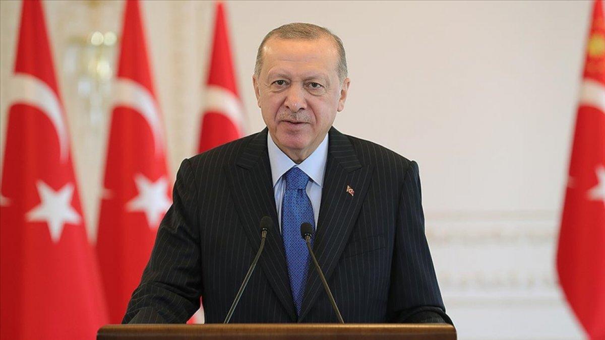 Cumhurbaşkanı Erdoğan'dan Sivas Kongresi mesajı