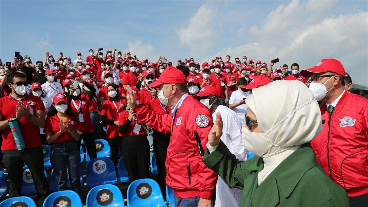 Cumhurbaşkanı Erdoğan, Deneyap Atölyeleri'nin açılışını yaptı