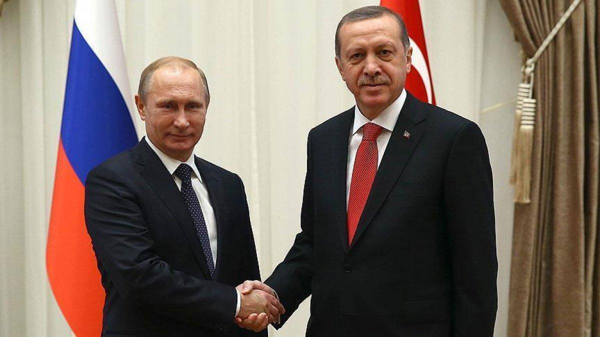 Cumhurbaşkanı Erdoğan ile Vladimir Putin görüştü #2