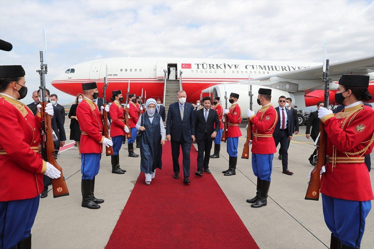 Cumhurbaşkanı Erdoğan Karadağ da #2