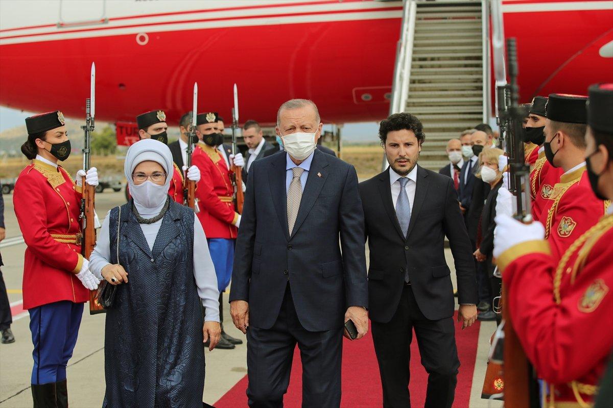 Cumhurbaşkanı Erdoğan Karadağ da #3