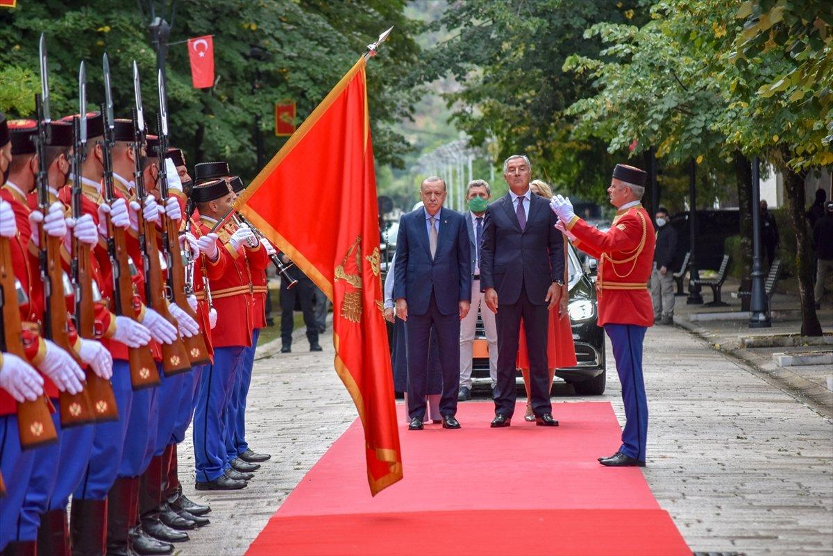 Cumhurbaşkanı Erdoğan Karadağ da #4