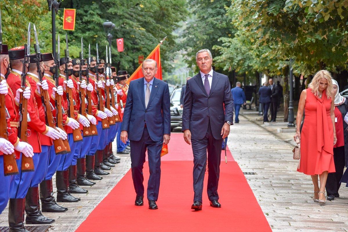 Cumhurbaşkanı Erdoğan Karadağ da #5