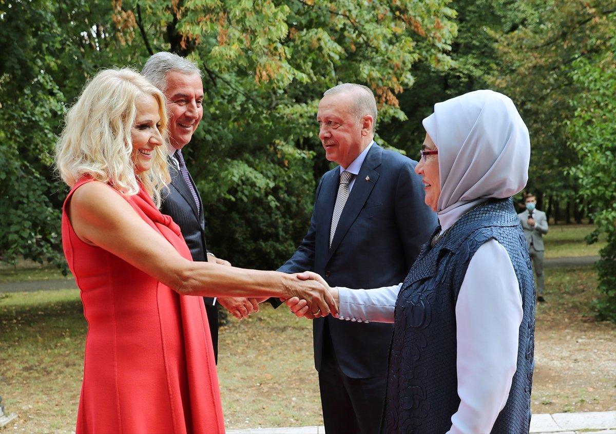 Cumhurbaşkanı Erdoğan Karadağ da #7