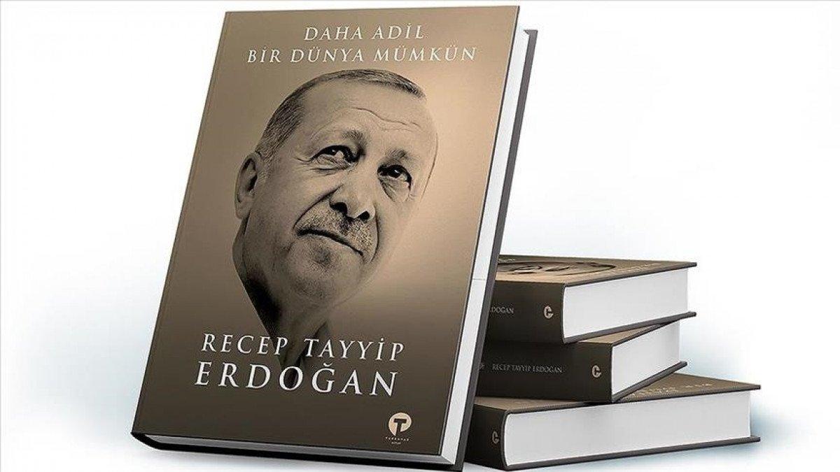 Cumhurbaşkanı Erdoğan, kitabını dünya liderlerine verecek #1
