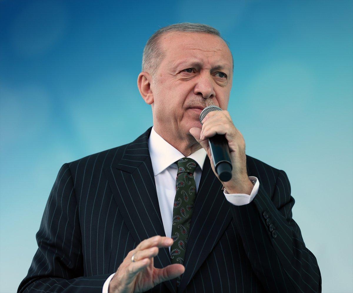 Cumhurbaşkanı Erdoğan, Mersin de toplu açılış törenine katıldı #4