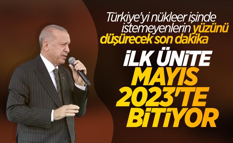 Cumhurbaşkanı Erdoğan, Mersin'de toplu açılış törenine katıldı