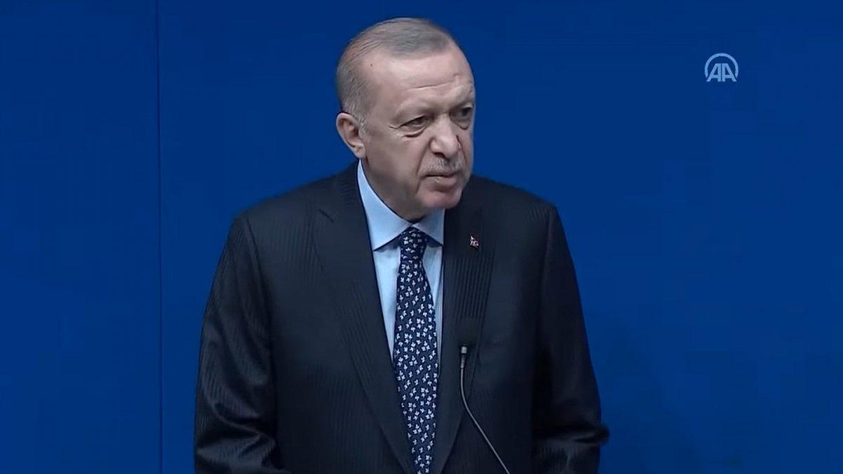 Cumhurbaşkanı Erdoğan, New York'taki Yeni Türkevi Binasında #2