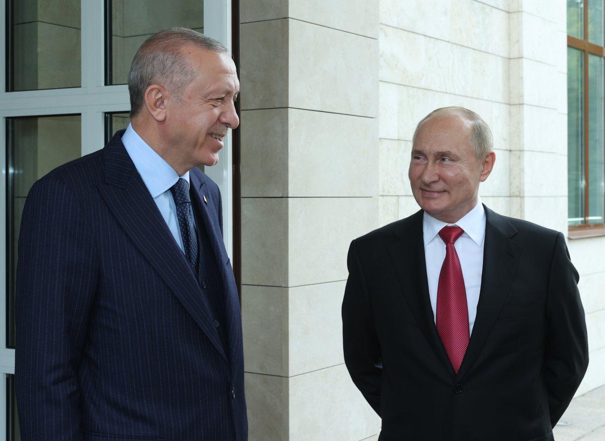 Cumhurbaşkanı Erdoğan: Putin ile verimli bir görüşme gerçekleştirdik #1