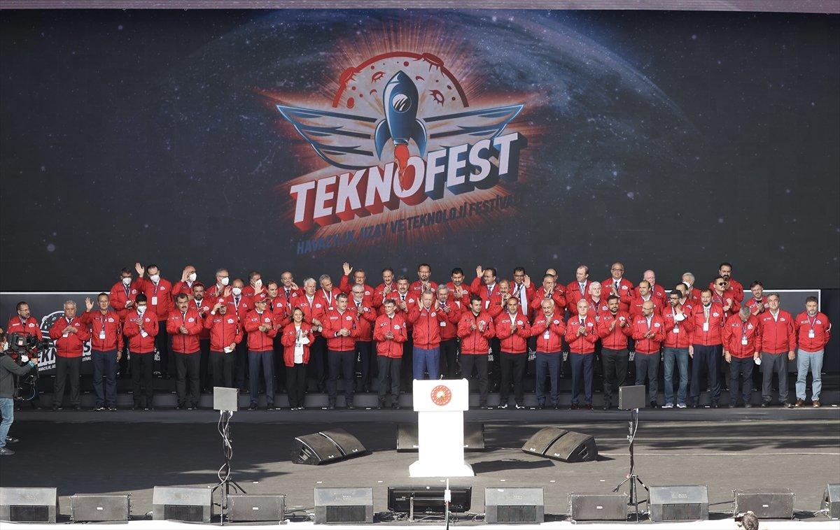 Cumhurbaşkanı Erdoğan: TEKNOFEST in genç mucitleri Türkiye nin mimarları olacak #2