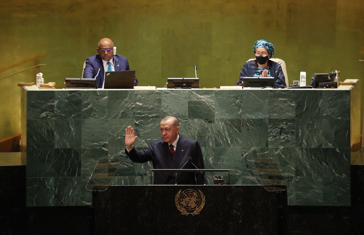 Cumhurbaşkanı Recep Tayyip Erdoğan, New York'tan döndü #1