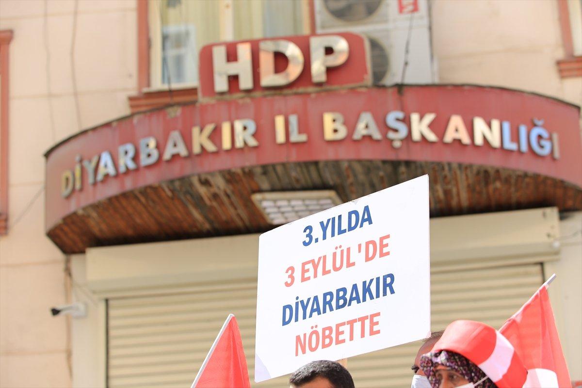 Diyarbakır da ailelerin evlat nöbeti 3 üncü yılına girdi #6