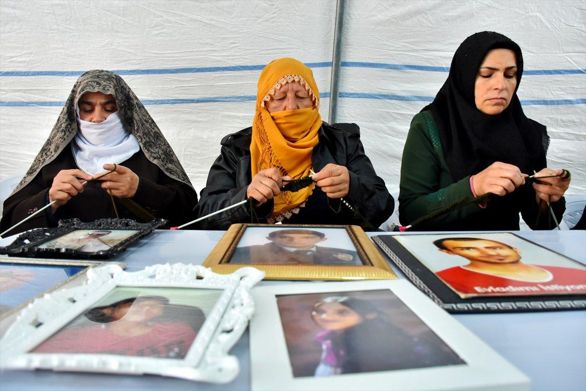 Diyarbakır da ailelerin evlat nöbeti 3 üncü yılına girdi #8