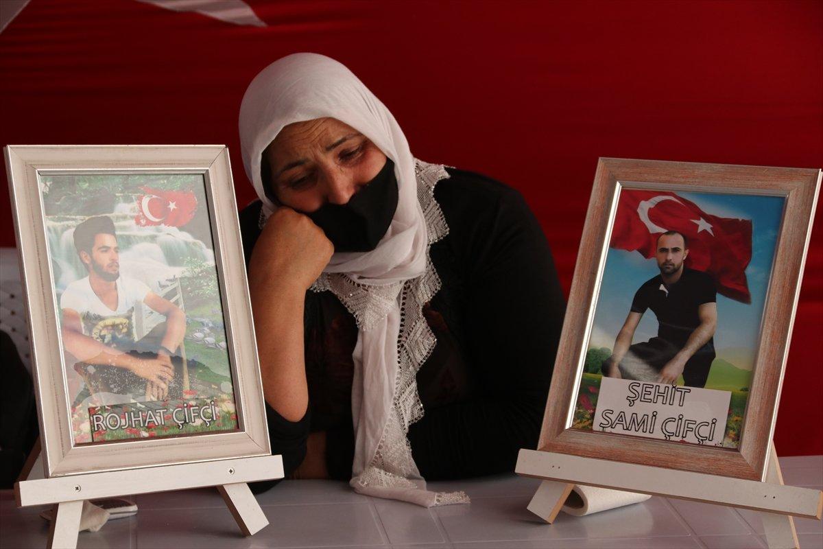 Diyarbakır da ailelerin evlat nöbeti 3 üncü yılına girdi #14