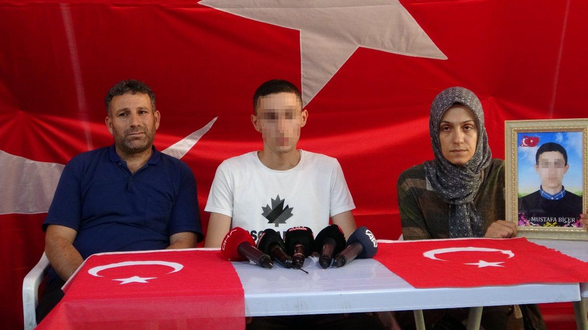 Diyarbakır'da, PKK'dan kaçan Mustafa Biçer'den teslim olun çağrısı