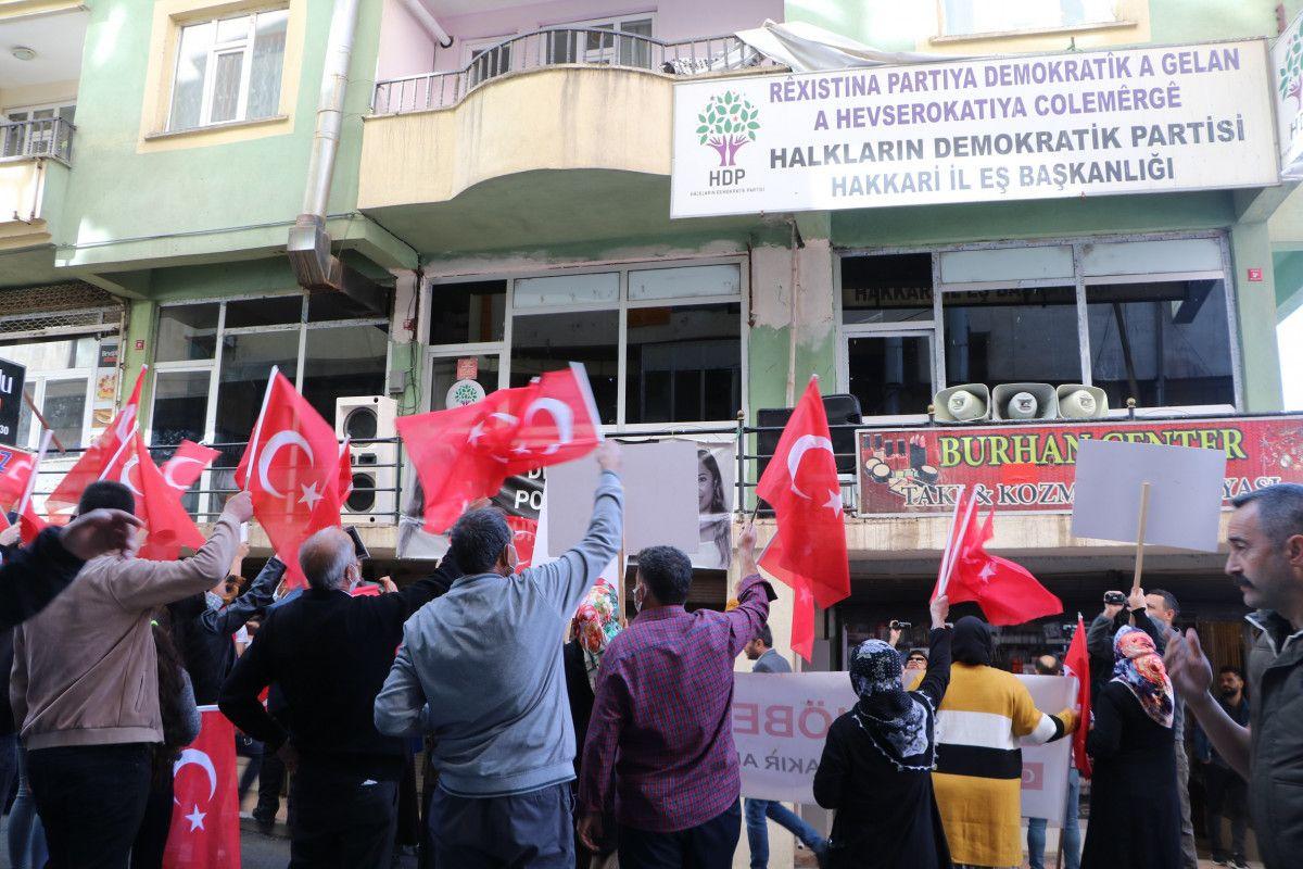 Diyarbakır daki annelerden, Hakkari deki evlat nöbeti eylemlerine destek #3
