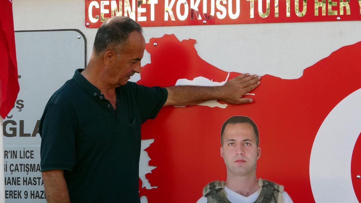 Diyarbakır şehidine ailesi anıt yaptırdı #2