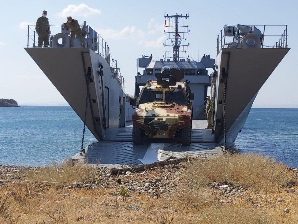 Ege Denizi ve Doğu Akdeniz de Kararlılık-2021 tatbikatı #4