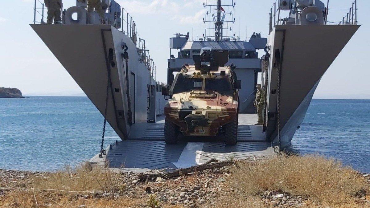 Ege Denizi ve Doğu Akdeniz'de 'Kararlılık-2021' tatbikatı