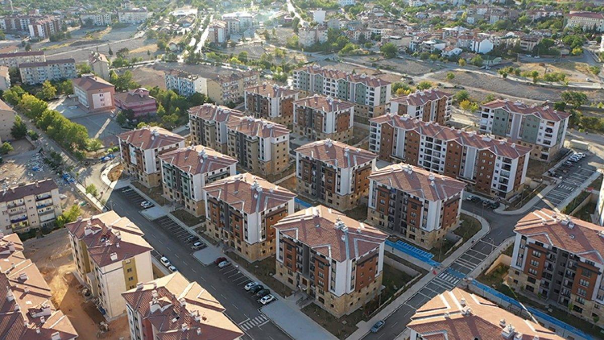 Elazığ da deprem sonrası yükselen yeni şehir #1