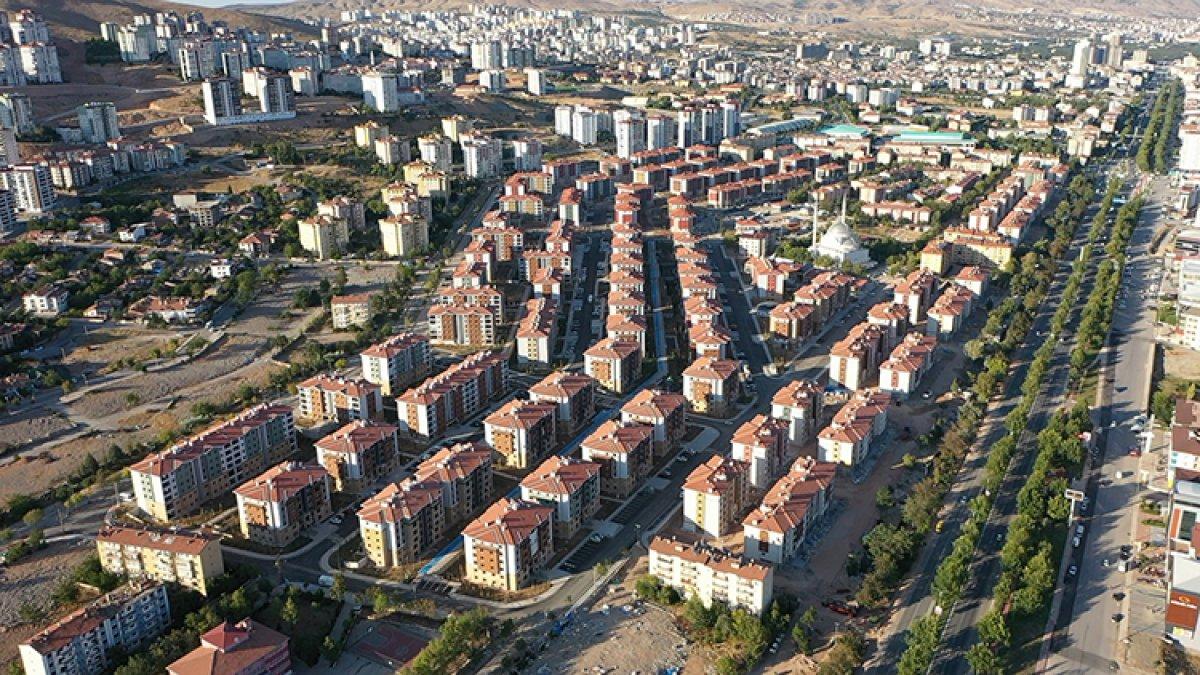 Elazığ da deprem sonrası yükselen yeni şehir #4