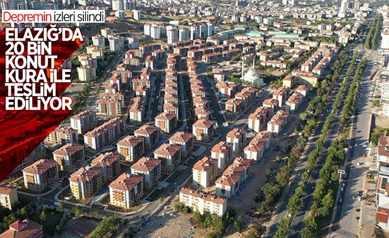 Elazığ'da deprem sonrası yükselen yeni şehir
