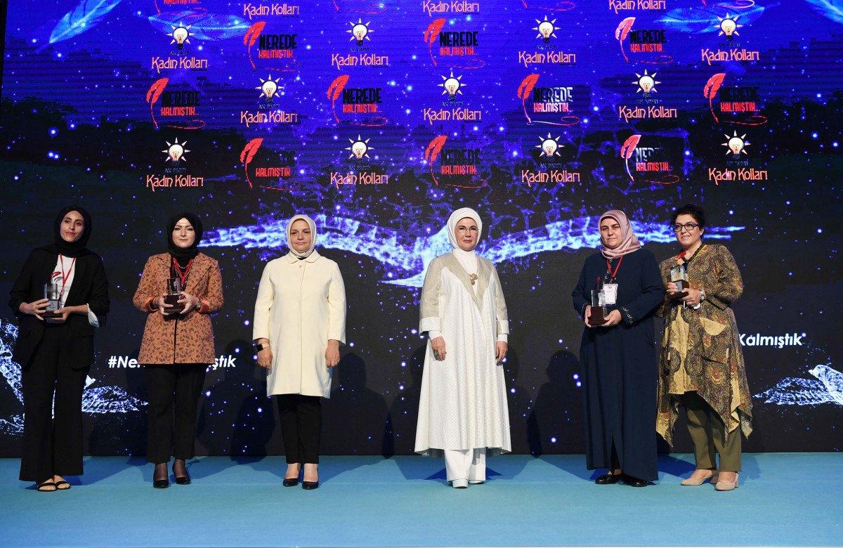 Emine Erdoğan: Eğitimleri yarıda kalan kadınlarımız okula devam edecek #4