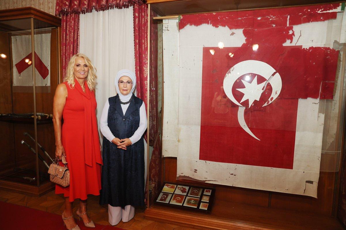 Emine Erdoğan, Kral Nikola Müzesi ni ziyaret etti #2