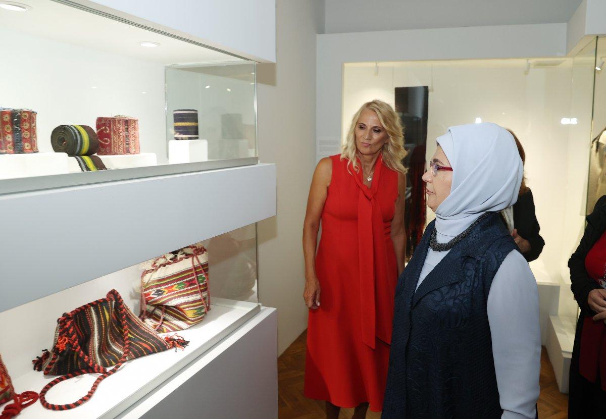 Emine Erdoğan, Kral Nikola Müzesi ni ziyaret etti #5