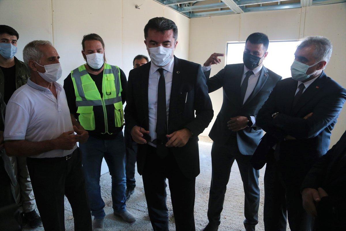 Erzurum'da, depremzedelere 350 konutun teslimi bu yıl yapılacak #1