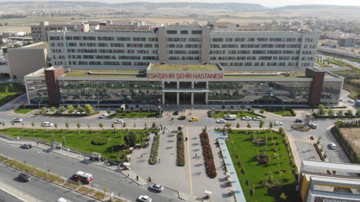 Eskişehir Şehir Hastanesi sayesinde birçok şehir nefes aldı