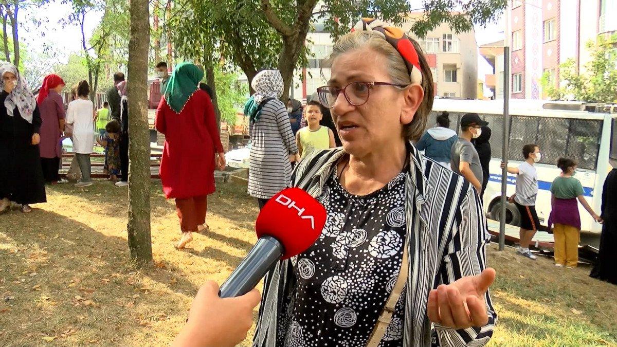 Eyüpsultan'da İBB'nin yıkacağı parkta eylem #7