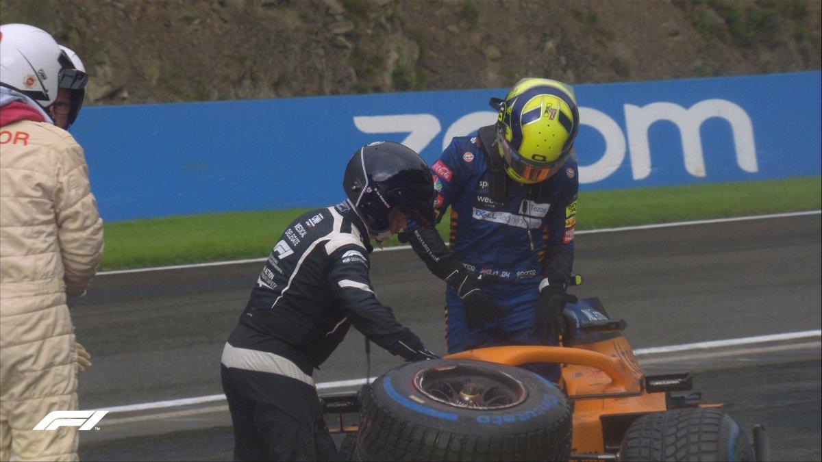 F1 pilotu Lando Norris kaza geçirdi #2