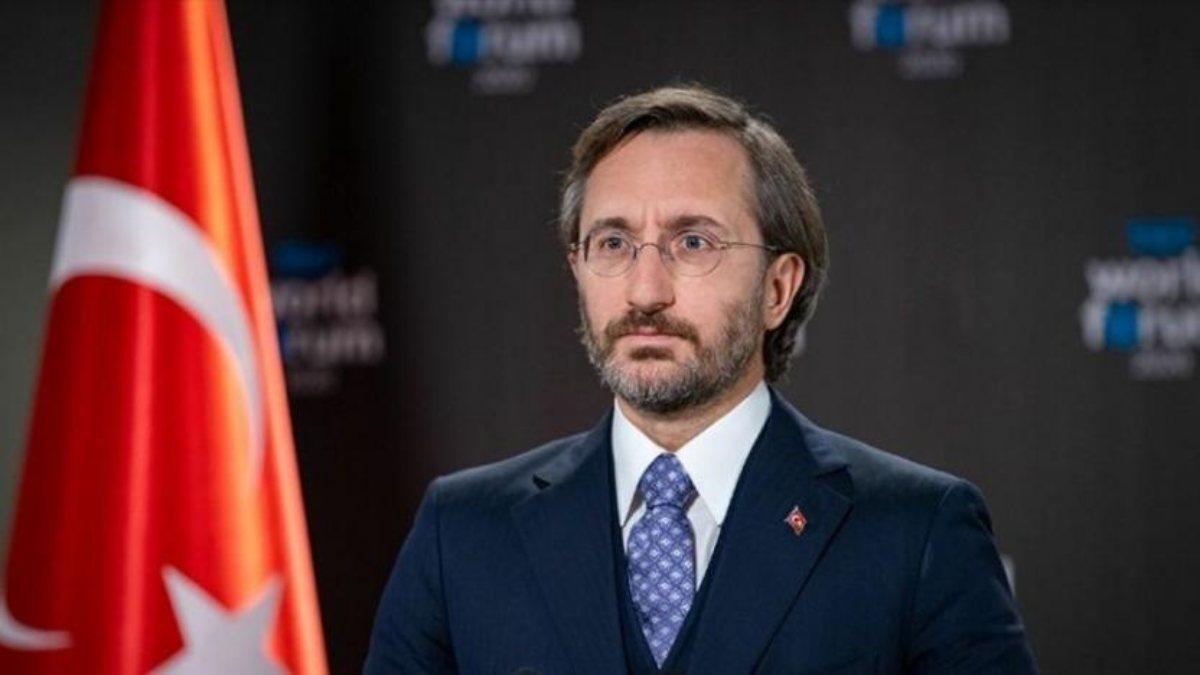 Fahrettin Altun'dan Anadolu Ajansı'na tebrik