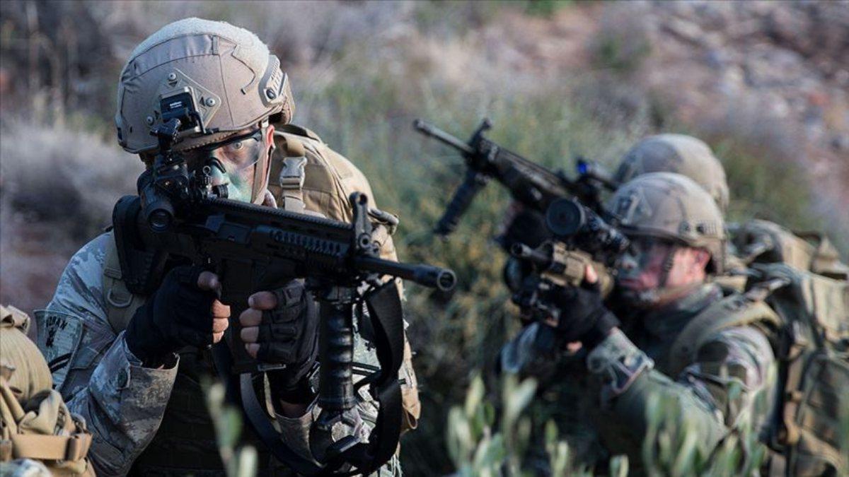 Fırat Kalkanı bölgesinde 4 terörist öldürüldü
