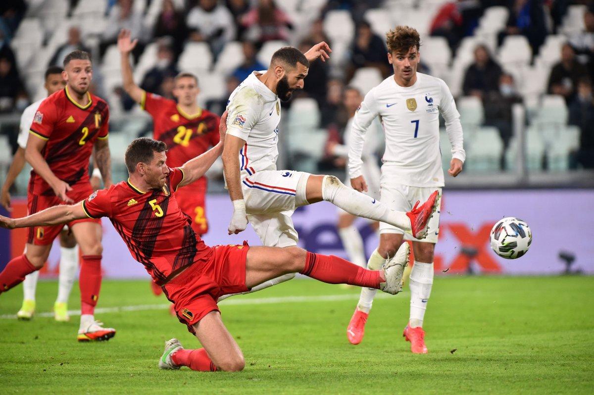 Fransa Belçika yı 3-2 yenerek finale yükseldi #1