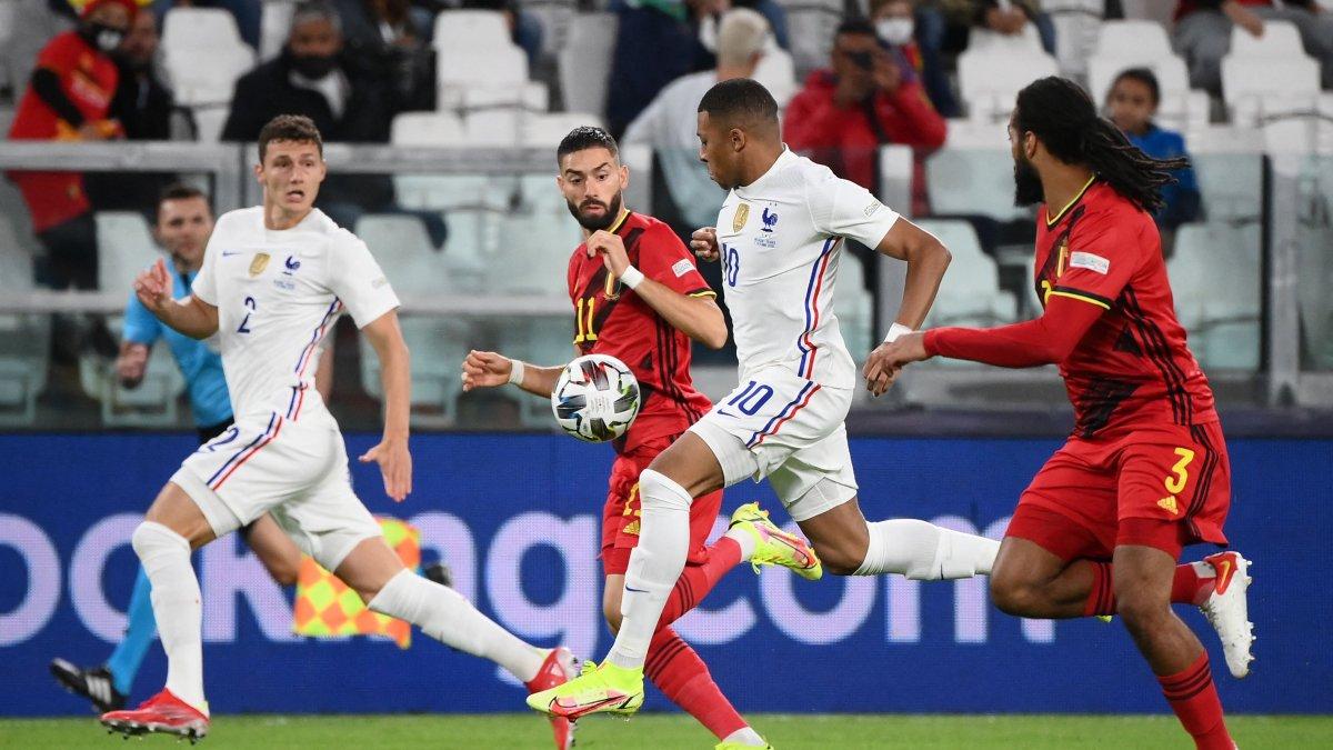 Fransa Belçika'yı 3-2 yenerek finale yükseldi