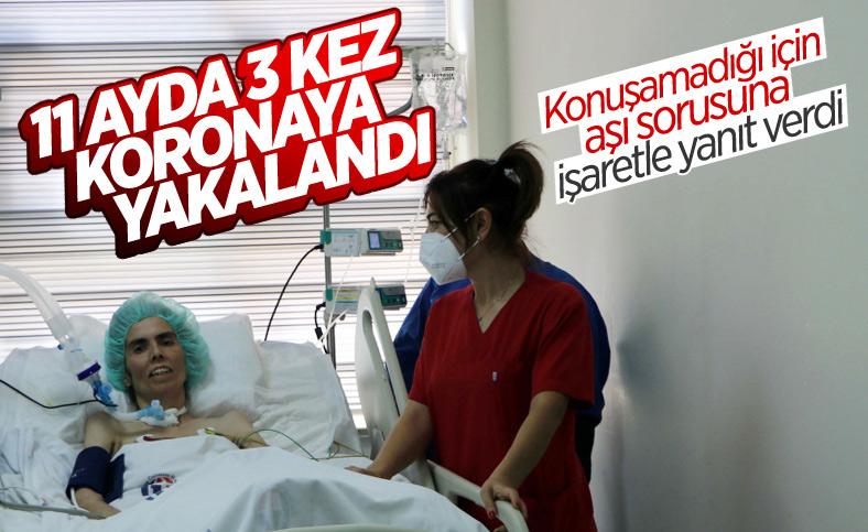 Gaziantep'te aşısız bir kişi 3 defa koronavirüse yakalandı