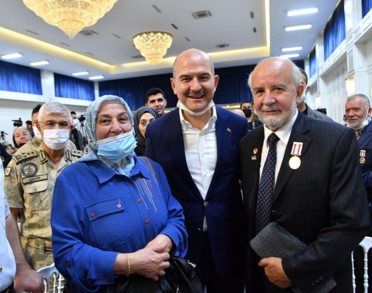 İçişleri Bakanı Süleyman Soylu, şehit yakınları ve gazilerle bir araya geldi #2