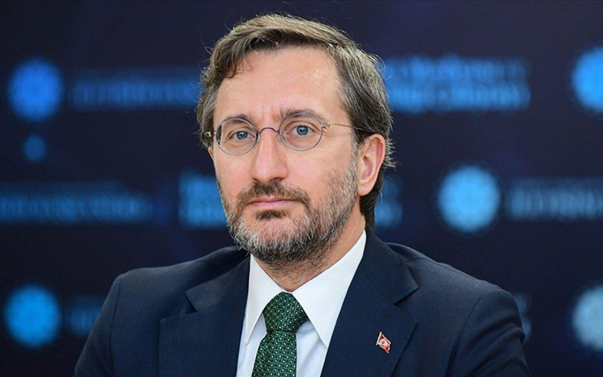 İletişim Başkanı Fahrettin Altun dan ekonomik büyüme açıklaması #1