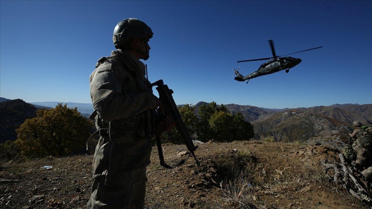 Irak ın kuzeyinde 4 PKK lı etkisiz hale getirildi #1