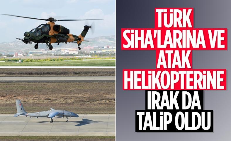 Irak, Türkiye'den insansız hava araçları talep etti