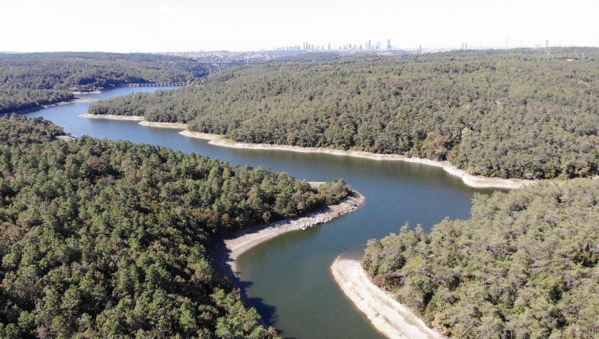 İstanbul barajlarında doluluk yüzde 50'nin altına düştü #3