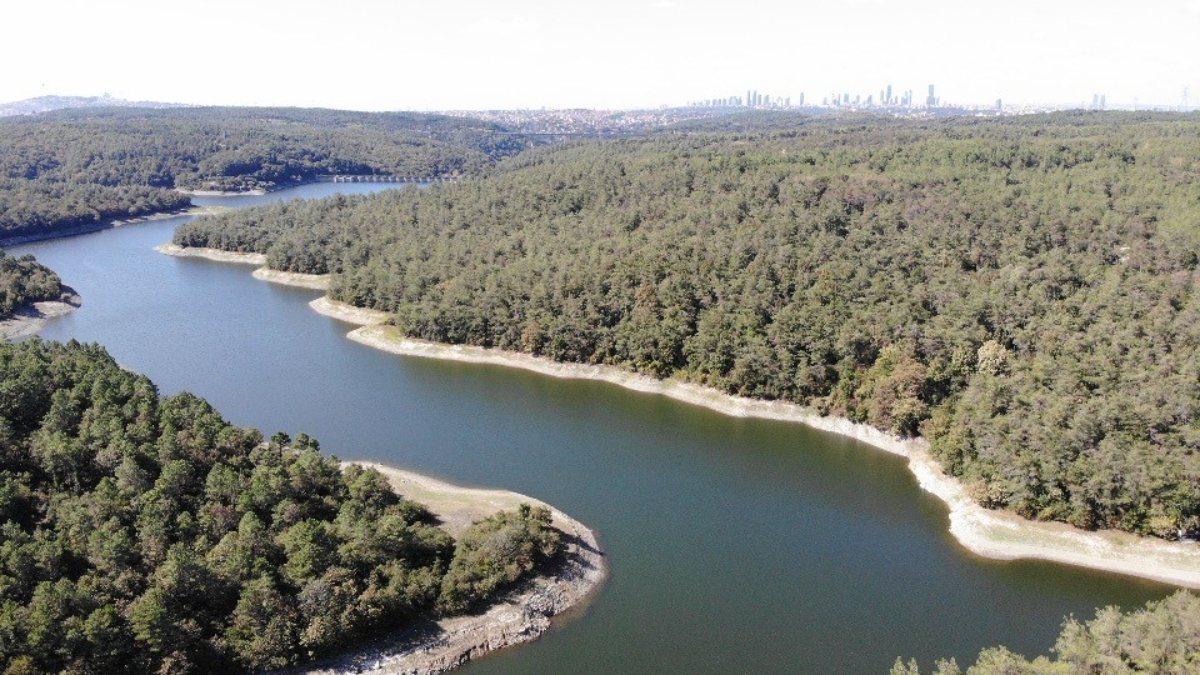 İstanbul barajlarında doluluk yüzde 50'nin altına düştü