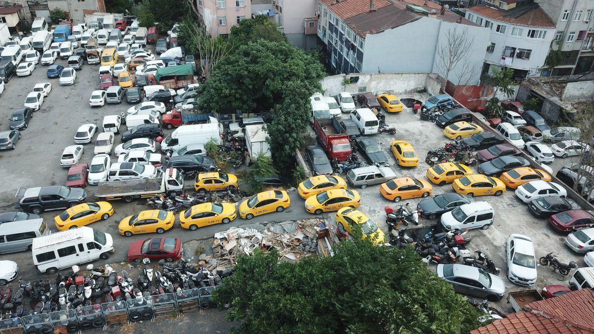 İstanbul da 8 ayda bin 886 ticari taksi trafikten men edildi #2