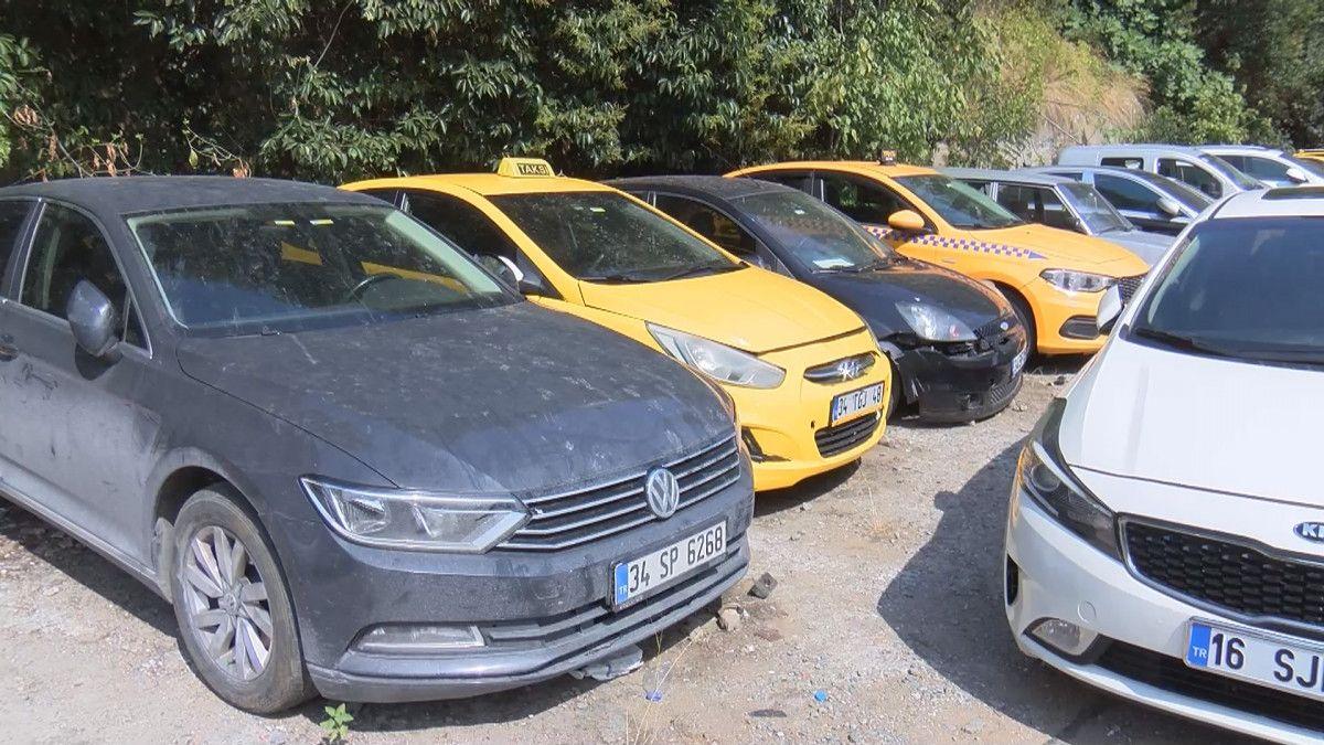 İstanbul da 8 ayda bin 886 ticari taksi trafikten men edildi #5