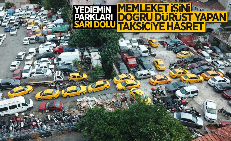 İstanbul'da 8 ayda bin 886 ticari taksi trafikten men edildi